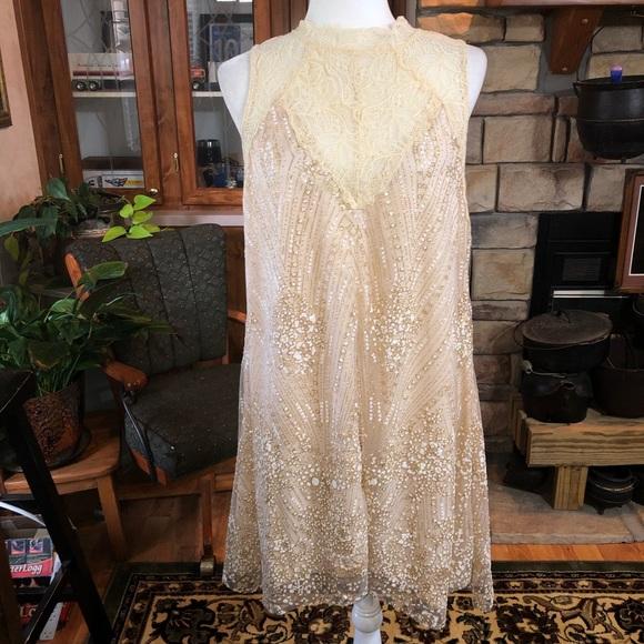 Southern Fried Chics size Large sleeveless dress